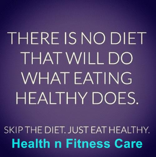 Diet For Healthy Living