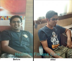 Foodie lost 30 kgs